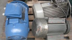 oud elektromotoren metaal